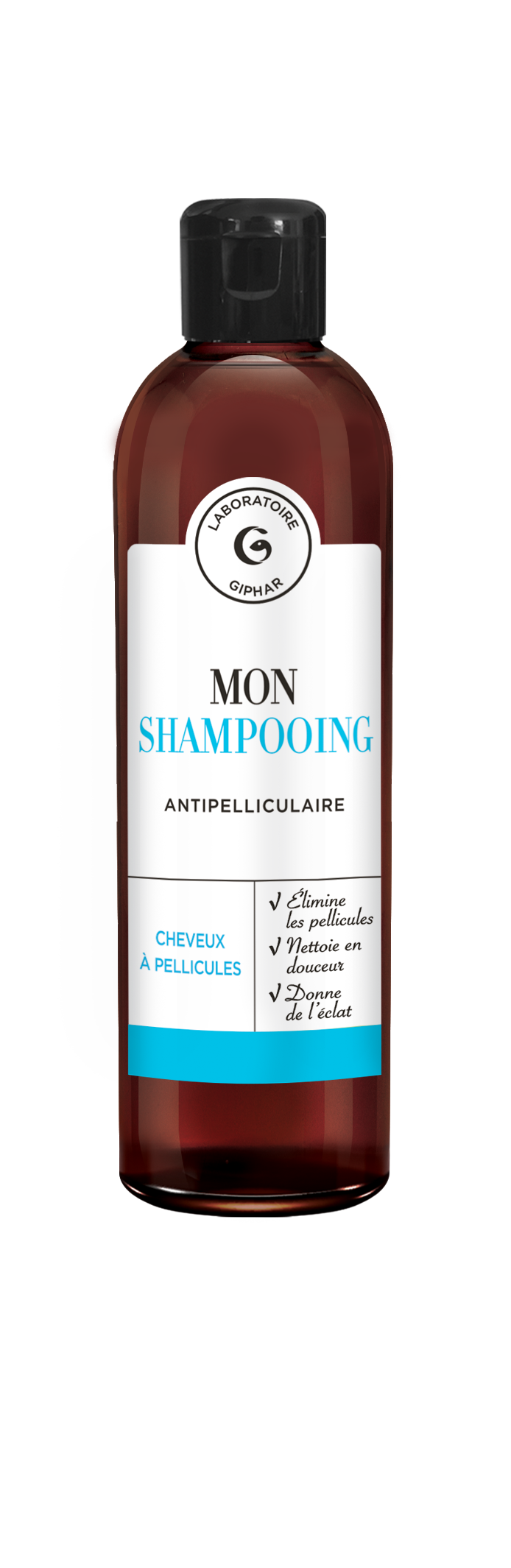 shampooing antipelliculaire packaging