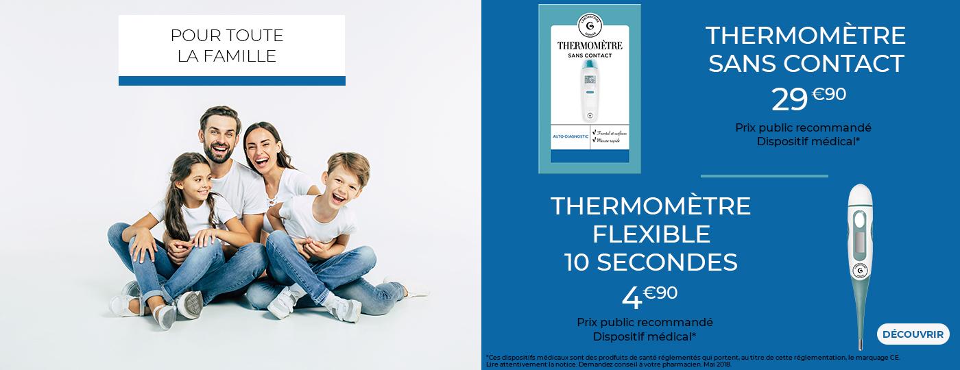 Découvrez nos thermomètres pour toute la famille>From Media Library